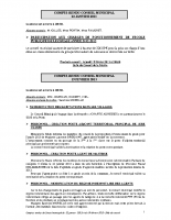 Conseil municipal du 22 01 2013