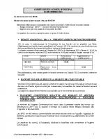 Conseil municipal du 12 12 2013
