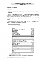 Conseil municipal du 21 03 2013