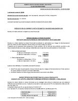 Conseil municipal du 08.11.2018