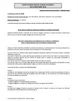 Conseil municipal du 13.12.2018
