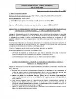 Conseil municipal du 20.06.2019